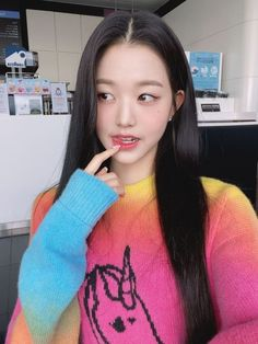 Korean Girl, Asian Girl, Selfies, Woo Young, Japanese Girl Group, Bts Aesthetic Pictures, Ulzzang Girl, K Idols, Girl Crushes