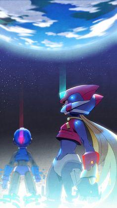 Mega Man, Akira, Perspective Artists, Viewtiful Joe, Toon Squad, Maverick Hunter, Zero Wallpaper, Super Smash Ultimate, Megaman Zero