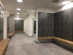 Phenolic lockers, hpl lockers, lockers for wet area — ATEPAA® Used Lockers, Gym Lockers, Gym Design, Fitness Design, Sport Design, Locker Room Bathroom, Locker Designs, Bar Designs, Gym Showers