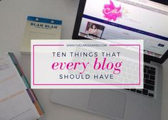 Things Every Good Blog Should Have