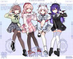 Anime Character Drawing, Cartoon Girl Drawing, Anime Girl Drawings, Cute Anime Character, Cute Drawings, Character Art, Anime Girl Dress, Manga Anime Girl, Anime Girl Cute