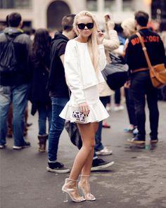 t-shirt two piece sweatshirt high waist mini skirt white two piece choies choies.com
