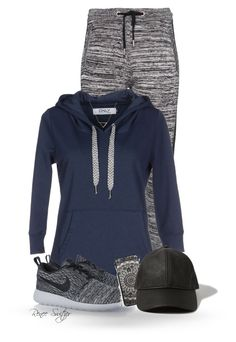 """""""Going for a Run"""" by renee-switzer ❤ liked on Polyvore featuring Zoe Karssen, ONLY, NIKE, Abercrombie & Fitch, Banana Republic, women's clothing, women, female, woman and misses"""
