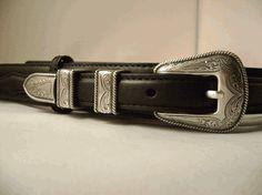 Ranger Belt- Available in Black or Brown