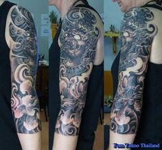 Thailand Tattoo, Thai Style, Hanuman, Fantasy Art, Tattoos, Design, Thai Tattoo, Fantastic Art, Irezumi