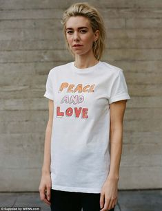 65deff14 Laura Whitmore and The Crown's Vanessa Kirby catch the eye in War Child  logo tops to