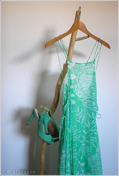 Dress and shoes from H&M.