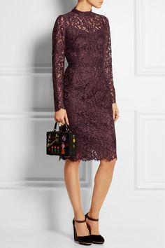 Dolce & Gabbana | Guipure lace dress | NET-A-PORTER.COM