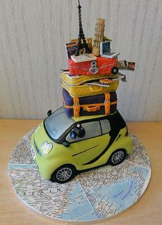 travel cakes - Google Search