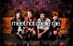 meet hot chelle rae... Check!! Minus Ian, though :(