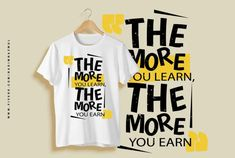 Design amazing typography t shirt with free tees mockup by Nadimnazmul Creative T Shirt Design, Shirt Print Design, Tee Design, Shirt Designs, Graphic Design, Behance Illustration, Typography Design, Typography T Shirt, Typography Alphabet