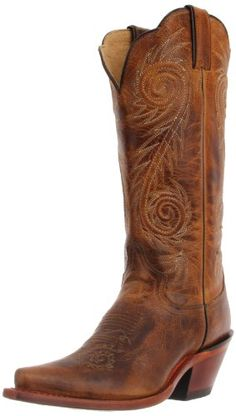 "Justin Boots Women's Western Fashion 13"" Boot Narrow Square Toe Leather Outsole,Tan Damiana,7.5 B US - http://prettyinboots.com/?p=16099"