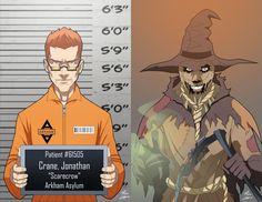 The Joker // extraordinarycomics: Batman Villains Arkham Knight Scarecrow, Scarecrow Batman, Marvel Dc, Marvel And Dc Superheroes, I Am Batman, Batman Art, Batman Stuff, Marvel Universe, Batman Sidekicks