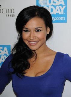 Naya Rivera, Santana off of Glee