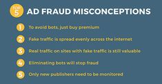 DEBUNKING AD FRAUD MISCONCEPTIONS