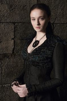 "Someone on Facebook called her, ""Darth Sansa"" lol fan fav #7"