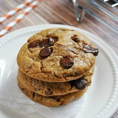 The pudding mix and the pumpkin keep them soft and moist and chewy, and the browned butter lends a toffee-like flavor.