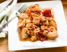 ArtandtheKitchen: Chicken with Sun-Dried Tomato Sauce
