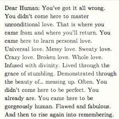 Dear Human...