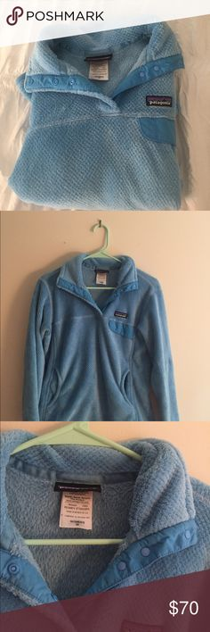 Patagonia Button Up Very cute and comfy patagonia jacket! In almost perfect condition, and it has only been worn a few times. Bit of an oversized fit but not super big. Patagonia Jackets & Coats
