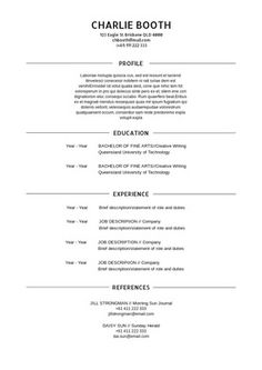 15 best resume design template images on pinterest cv resume