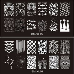 2016 New Series BM Nail Stamping Plates DIY Image Konad Nail Art Manicure Templates Stencils Salon Beauty Polish Tools-in Nail Art Templates from Beauty & Health on Aliexpress.com | Alibaba Group