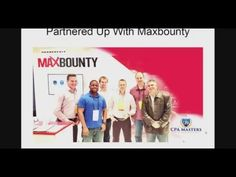 CPA Masters Academy Review|The #1 CPA Network Maxbounty has joined force...
