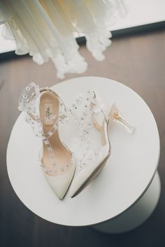#Valentino Shoes | Modern Toronto Wedding from Mango Studios + Melissa Andre Events | See more - http://www.stylemepretty.com/2013/11/05/modern-toronto-wedding-from-mango-studios-and-melissa-andre-events/