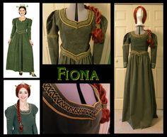 Princess Fiona Costume by Durnesque.deviantart.com on @deviantART