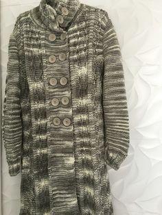 Adorei este casaco feito pelas mãos de fada da minha querida mãe.