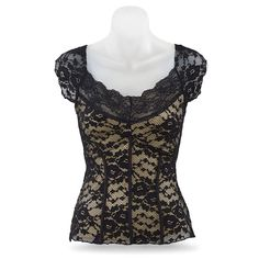 2f6e06ca44 Black-Lace Corset Top - Women s Clothing   Symbolic Jewelry – Sexy
