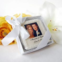 Personalized Photo Cookie by Beau-coup for party favors