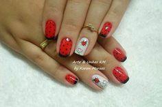 ........ Nails, Beauty, Cute, Dots, Finger Nails, Ongles, Beauty Illustration, Nail, Nail Manicure