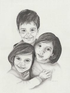 June 2020©, 30 x 40, pencil. Art, Male Sketch, Sisters, Design