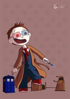Fan art doctor who by kaori