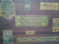 Love this old school cigar box I scored at the goodwill :)
