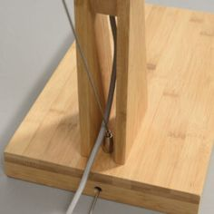 Montblanc Floor Lamp Good&Mojo • WOO .Design Diy Floor Lamp, Bioethanol Fireplace, Bamboo Floor, Bulb, Design, Mont Blanc, Solar Lights, Bamboo, Onions