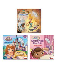 Another great find on #zulily! Disney Junior Press Read-Along Storybook & CD Set #zulilyfinds