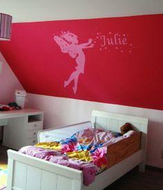 Muurschildering fee in kinderkamer