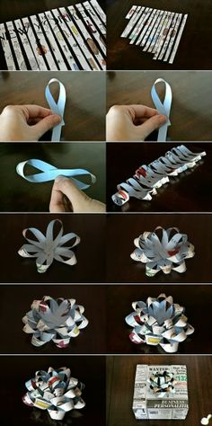 303Pixels: Make a Gift Bow Out of Any Paper
