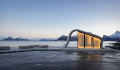 New Architectural Addition to Must-See Landmarks on Norway's Scenic Tourist Trails, Courtesy of Norwegian Public Roads Administration