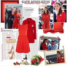 """Celebrities Style: Kate Middleton"" by milachka on Polyvore"