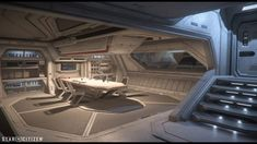 Science Fiction, Gnu Linux, Spaceship Interior, Anime Warrior, Star Citizen, Great Britain, Sci Fi, Military, Space Station