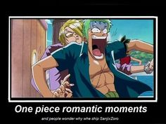Zoro x Sanji #one piece i dont ship them #brotp but im dying at this post