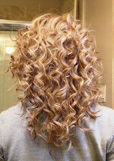 How to Get Curls w/ a Curling Iron | ManeDish– I think my hair is too heavy for this but I love tightcurls  | followpics.co