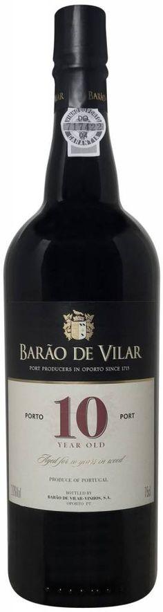 € 10,49 per fles, afname per 6 flessen - Barao de Vilar 10 Years old Port, Geen 18, geen alcohol www.ovstore.nl/nl/wijnvoordeel-1049-per-fles-afname-per-6-flessen-ba.html
