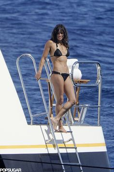 Michelle Rodriguez can't help it.