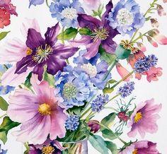 art by anne mortimer   Ann Mortimer. Watercolor. Обсуждение на LiveInternet ...