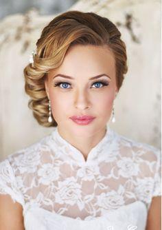 gorgeously fresh bridal make up and hair   -  inspiration via #doltonehouse #bridalmakeup #bridalbeauty