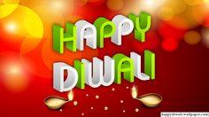 Diwali 2015 3D Text Wallpaper